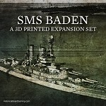 Baden Battleship 3D Printed Set