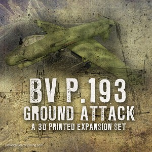 BV P.193 Ground Attack (3d Printed)