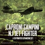 Caproni N1 Jet Fighter (3d Printed)