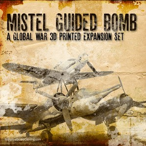 Mistel-Flying Bomb 3d Printed Set