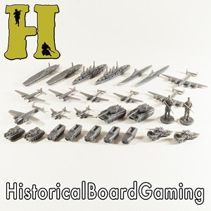 "HBG ""Battle Pieces"" - WW2 Germany Expansion Set - Dark Grey"