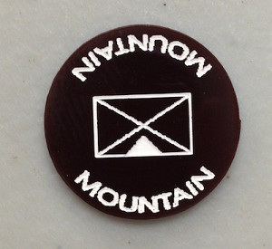 HBG Mountain Troops Marker (Acrylic) X5