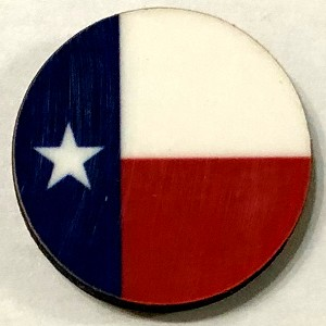 HBG Texas Flag (1839-P)  (10/set)