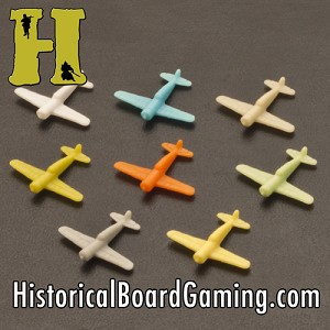 "HBG ""Battle Pieces"" - WW2 Neutrals Basic Set - Fokker D XXI Fighter"