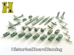 "HBG ""Battle Pieces"" - WW2 United Kingdom Supplement Set - Revised Celery Green"