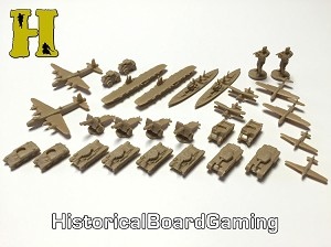 "HBG ""Battle Pieces"" - WW2 United Kingdom Supp. Set - Tan"