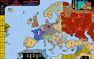 WWII in Europe Vinyl map & Electronic Rules