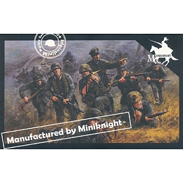 1/72 WWII German Army Sturmpionier Team Box (Caesar)