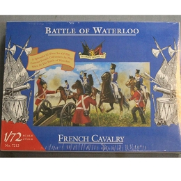 1/72 Waterloo French Cavalry (Cuirassiers) Box (Accurate Figures)