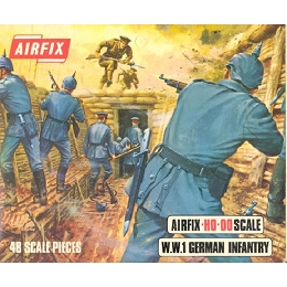 1/76 German WWI Infantry Box (Airfix)