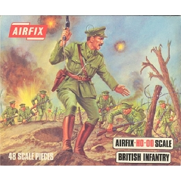 1/76 British WWI Infantry Box (Airfix)
