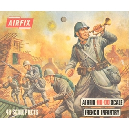 1/76 French WWI Infantry Box (Airfix)