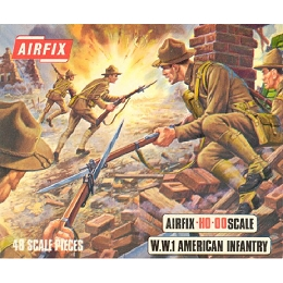 1/76 American WWI Infantry Box (Airfix)