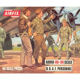 1/76 American WWII  U.S.A.F. Personnel Box (Airfix)