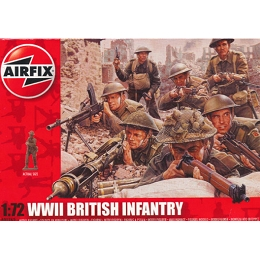 1/72 WWII British Infantry Box (Airfix)