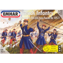 1/72 French Infantry 1854-1871 (EMHAR)