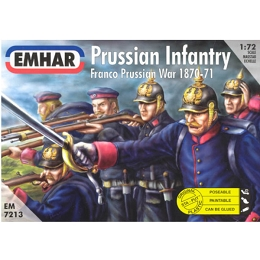 1/72 Prussian Infantry 1854-1871 (EMHAR)