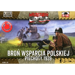 1/72 Polish Infantry Support Weapons (First to Fight)