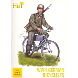 1/72 WWII German Bicyclist Box (HaT)