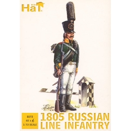 1/72 1805 Russian Line Infantry (48) (HaT)