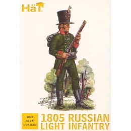1/72 1805 Russian Light Infantry (48) (HaT)