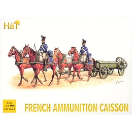 1/72 Napoleonic French Ammo Caisson  (3 Sets) (HaT)