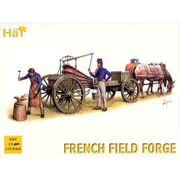 1/72 Napoleonic French Horse Drawn Field Forge Wagon (w/2 Figures) (HaT)