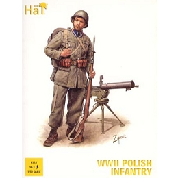 1/72 WWII Polish Infantry Box (HaT)