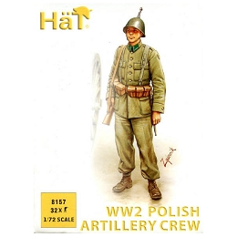 1/72 WWII Polish Artillery Crew Box (HaT)