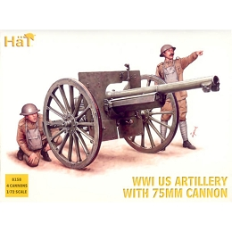1/72 WW1 U.S. Artillery Box (HaT)