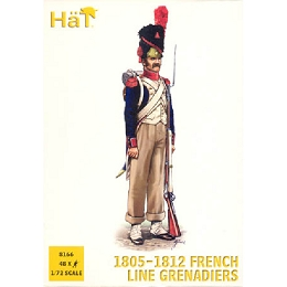1/72 French Line Grenadiers 1805-1812 (48) (HaT)