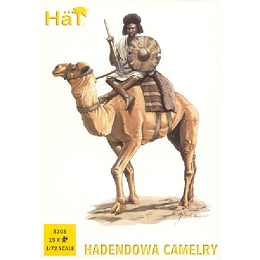1/72 Colonial Wars Hadendowa Camelry (15 & 12 Camels) (HaT)