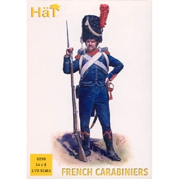 1/72 Napoleonic French 1808-1812 French Light Infantry Carabiniers (48) (HaT)