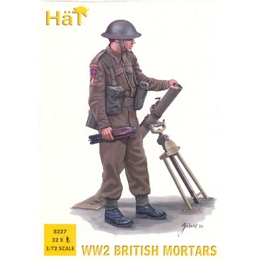 1/72 WWII British Mortar Team Box (HaT)