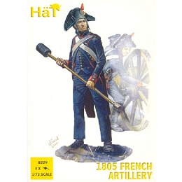 1/72 Napoleonic French Artillery (4 sets) (HaT)