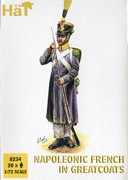 1/72 Napoleonic French in Greatcoats (20) (HaT)