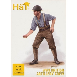 1/72 WWII British Artillery Crew Box (HaT)