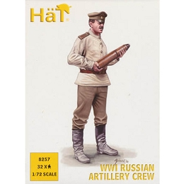 1/72 WWI Russian Artillery Crew Box (HaT)