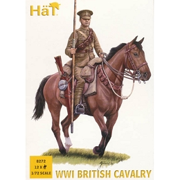 1/72 WWI British Cavalry Box (HaT)