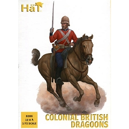 1/72 Colonial British Dragoons (15) (HaT)