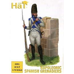 1/72 Napoleonic Spanish Grenadiers (32) (HaT)