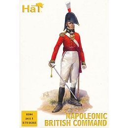 1/72 Napoleonic British Command (24) (HaT)