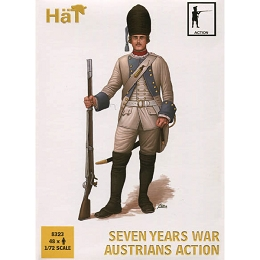 1/72 7-Years War Austrians Action (48) (HaT)