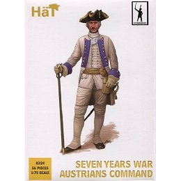 1/72 7 Years War Austrians Command (56) (HaT)