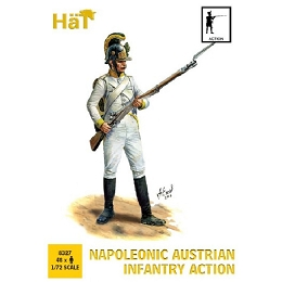 1/72 Napoleonic Austrian Infantry Action (48) (HaT)