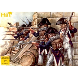 1/72 Napoleonic 1805 French Line Infantry (48) (Hat)