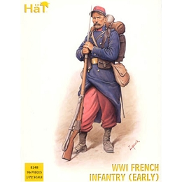 1/72 WWI French Infantry Box (HaT)