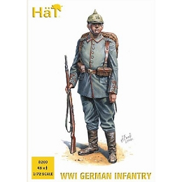 1/72 WWI German Infantry Box (HaT)