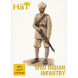1/72 WWI Indian Infantry Box (HaT)