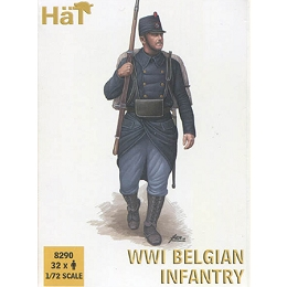 1/72 WWI Belgian Infantry Box (HaT)